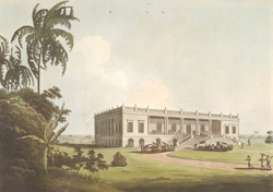 Felicity Hall, Late The Residence Of The Honble. David Anstruther, near Moorshedabad.